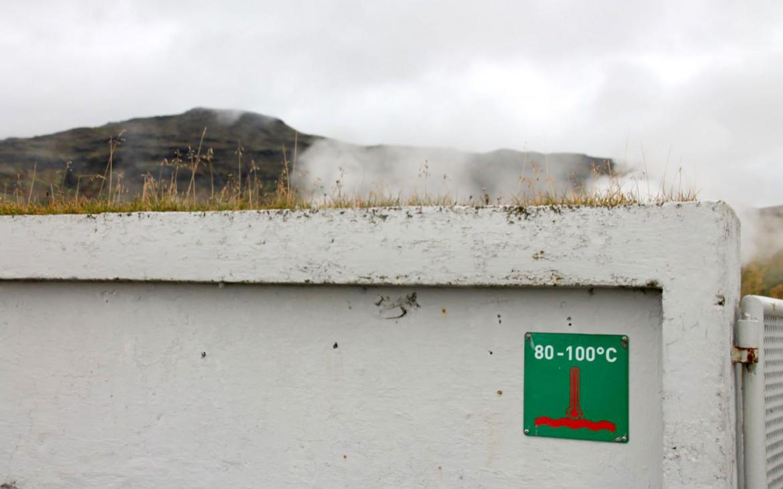 Warnhinweis: 80 - 100°C