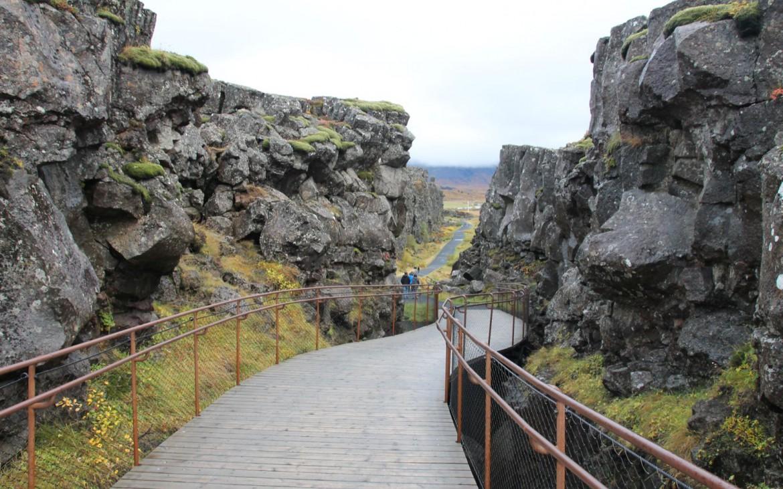 Allmännerschlucht im Thingvellir Nationalpark