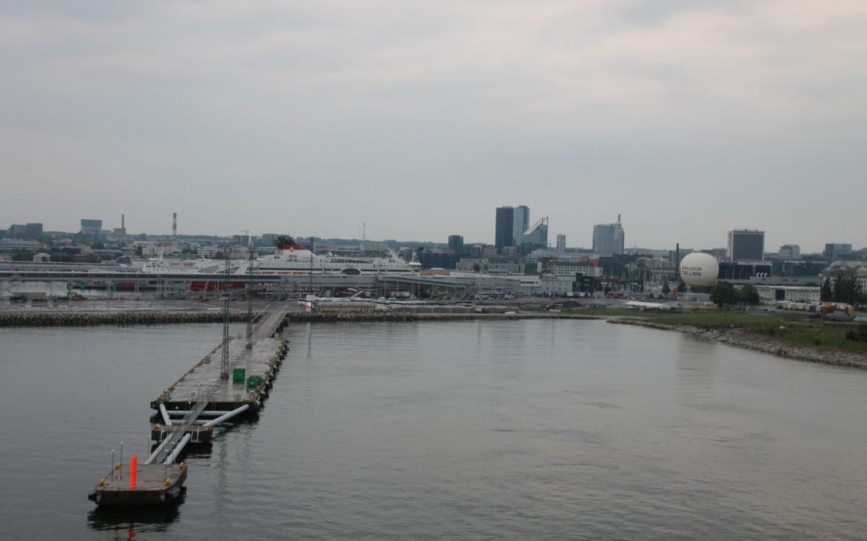 Anlegestelle AIDA in Tallinn