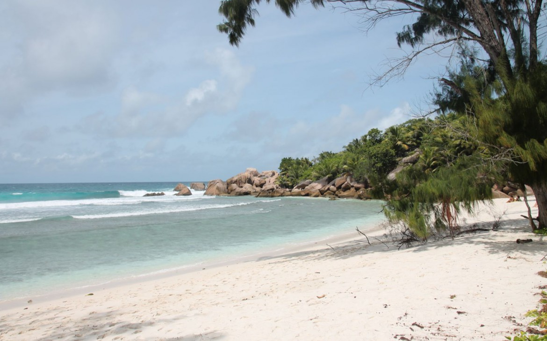 Anse Coco auf La Digue, Seychellen
