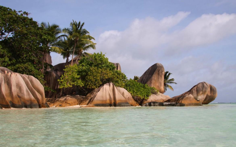 Schönster Strand der Welt - Anse Sorce d'Argent