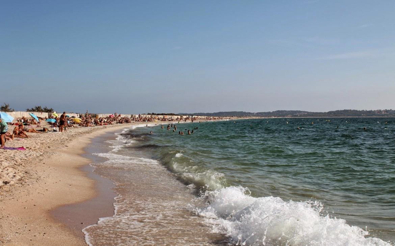 Baden am Strand Plage de l'Almanarre