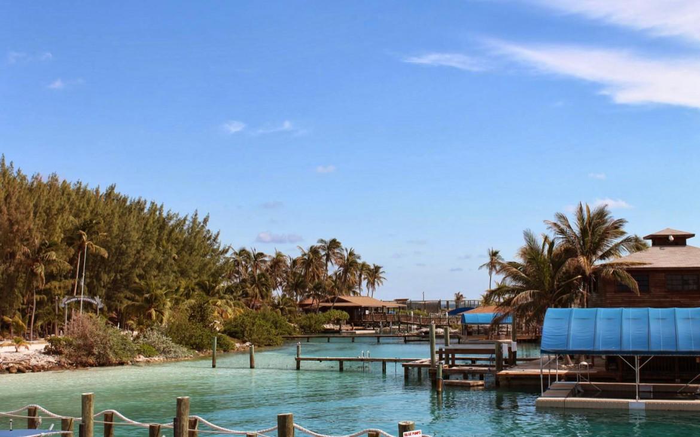 Blue Lagoon Island Anleger