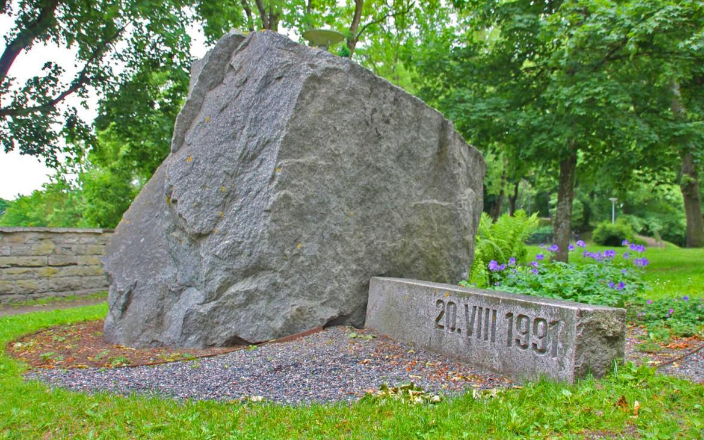 Gedenkstein an Unabhängigkeit