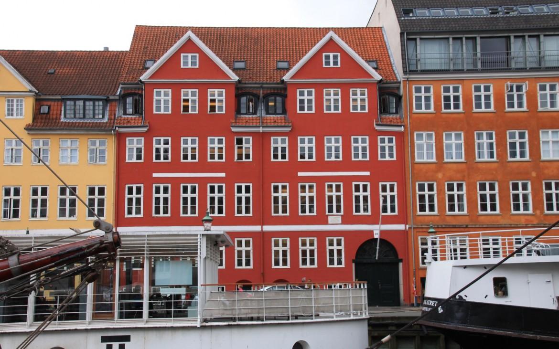 Hans Christian Andersens erste Wohnung mit der Nr. 20
