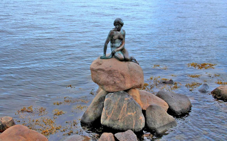 """Kleine Meerjungfrau"" Statue in Kopenhagen"