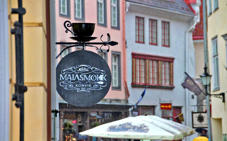 Maiasmokk Cafe Tallinn