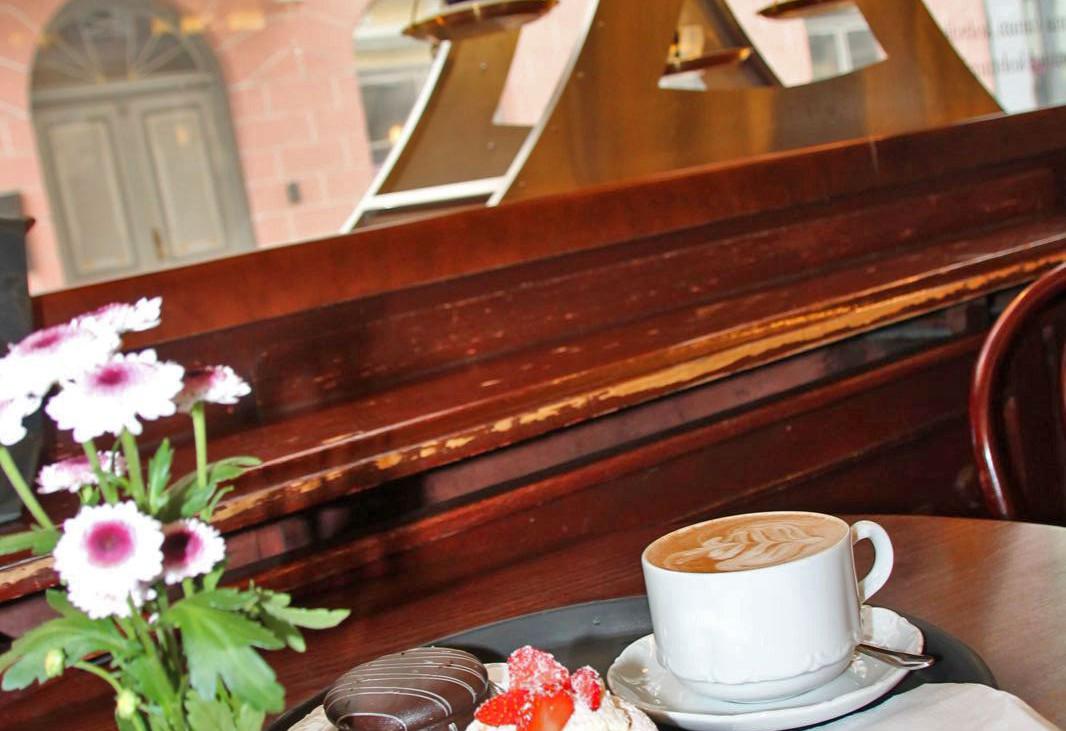 Kaffeezeit im Maiasmokk