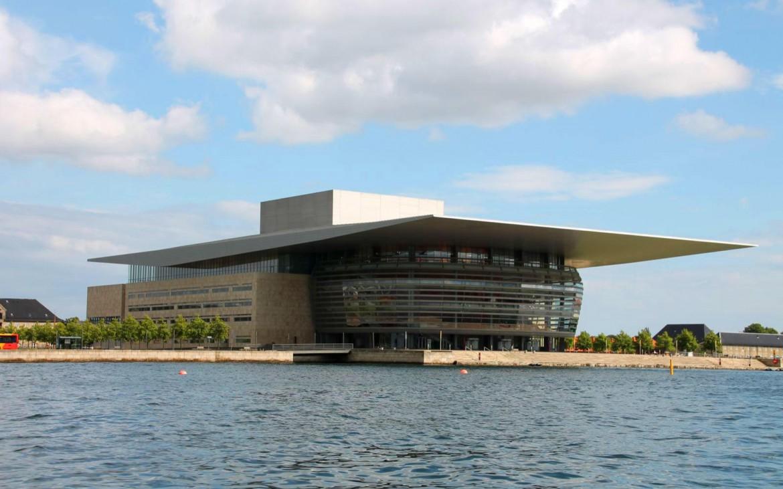 Neue Oper auf der Insel Holmen