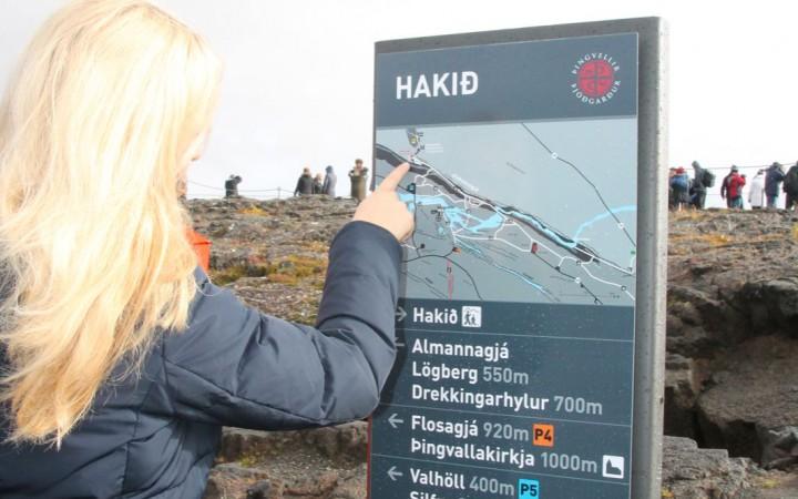 Orientierung am View Point Hakid