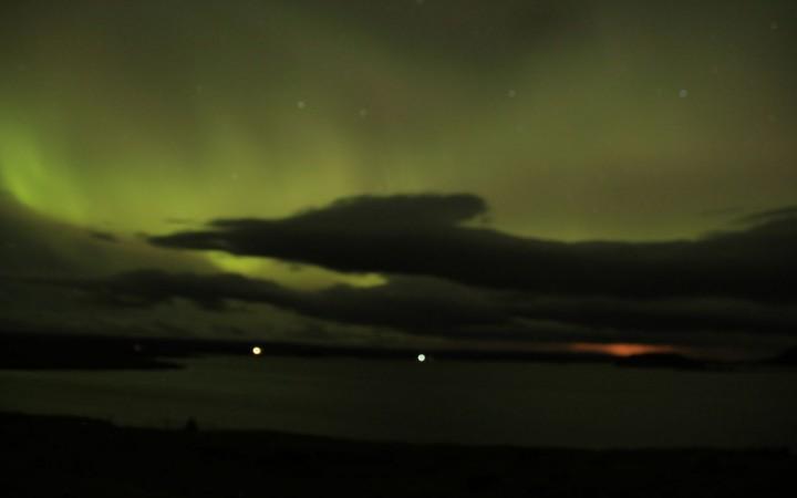Polarlichter in Myvatn Island
