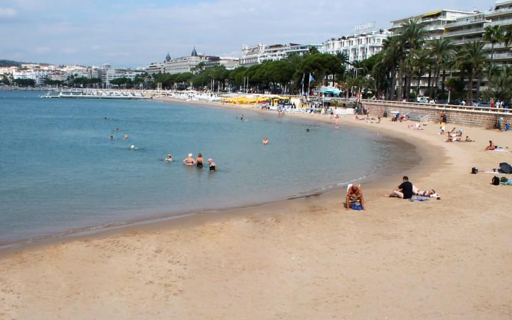Strand an der Croissette