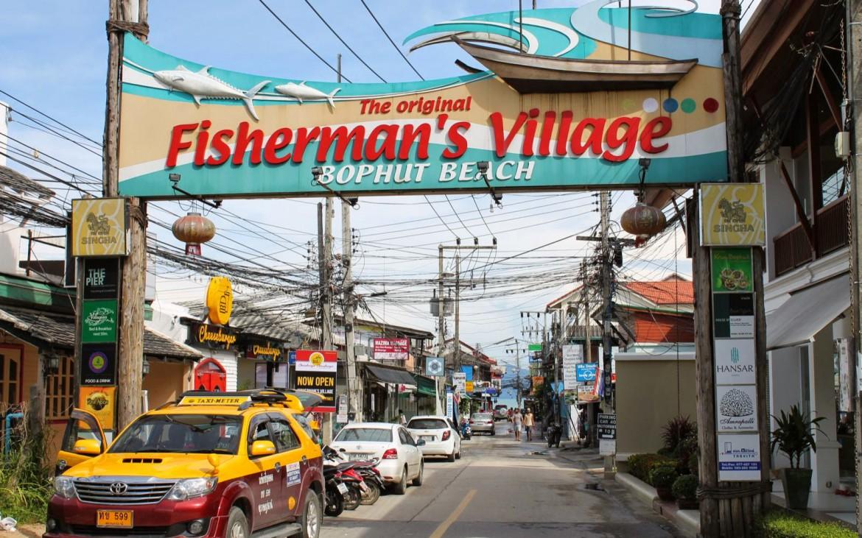 Mit Taxi unterwegs auf Koh Samui