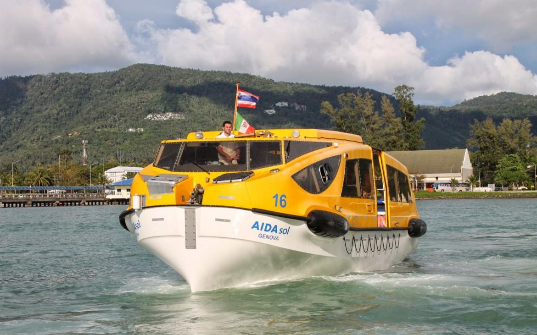 Tenderboot AIDAsol Koh Samui