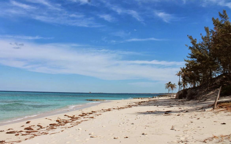 Traumstrand Bahamas Karibik