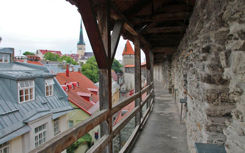 Unterwegs auf den Stadtmauern